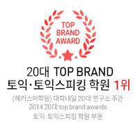 20�� TOP BRAND ����, ���� ����ŷ �п� 1��